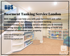 Best Basement Tanking Service London - Bds Drainage
