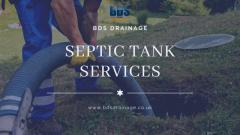 Septic Tank Install, Repair & Emptying - Service