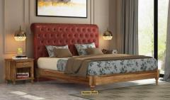 Solid Wood Beds in UK at Wooden Street