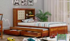Buy best trundle bed  Premium finishes  Wooden Street