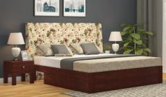 Luxury fabric bed online in UK  Wooden Street