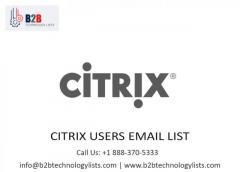 Buy  Citrix Users Email List - B2B Technology lists