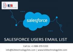Buy Salesforce Users List-B2B Technology Lists