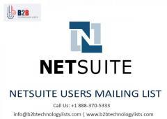 Buy Netsuite Users Mailing List - B2B Technology