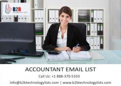 Buy Accountants Email List - B2B Technology List