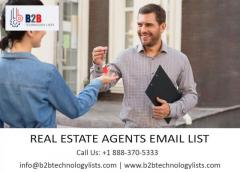 Buy Real Estate Agents Email List-B2B Technology