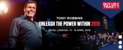Tony Robbins Unleash The Power Within London 2019