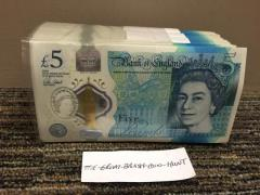Buy undetectable English banknotes