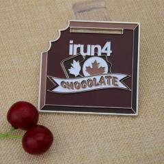 Custom Chocolate Medals -  irun4 Custom Medals