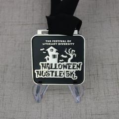 Halloween Hustle 5K Race Medals