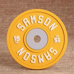 Yellow Samson Pvc Coaster