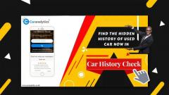 Car History Check Insightful at Car analytics