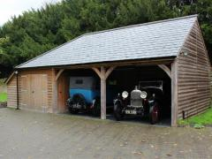 Timber Carriage Houses Manufacturer UK  Wooden Car Gar