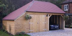 Top Quality Wooden Car Garage Supplier in UK  Passmore