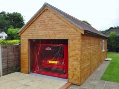 Timber Framed Garages And Carports Made In Uk