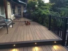Garden Yard LED Deck Rail Stair Step Patio Terrace Ligh