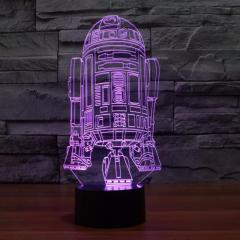 3D bedroom LED table lamp gift