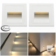 LED Wall Corner Lights Plinth Recessed Stair Stage Lamp