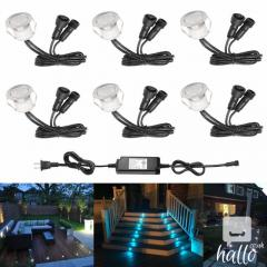 D30 6Pcslot 30mm 12V Outdoor Terrace LED Deck Stair St