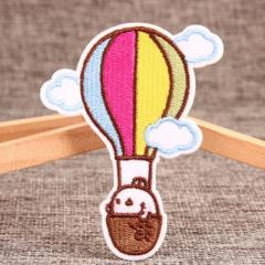Hot Air Balloon Make Embroidered Patches
