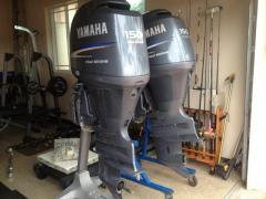 Slightly Used Yamaha Outboard Motor