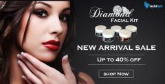 Techhark Professional Gold & Diamond Facial Kit 750g