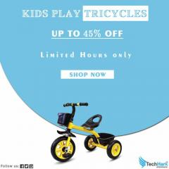 Techhark Squad Novanym Little Kids Play Tricycle