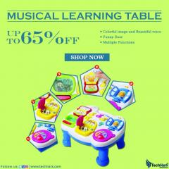 Techhark Musical Learning Table For Kids  Baby T