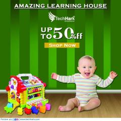 Techhark Learning House Colorful Educational Toy