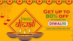 Diwali Dhamaka Offer & Discount Up To 80 Precent