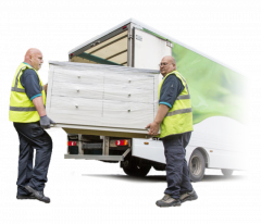 Removals, deliveries and shipping with UKDAR