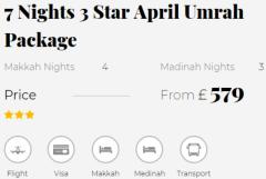 Luxury April Umrah Packages 2020