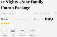 Islamic Travel Cheap Umrah Packages London