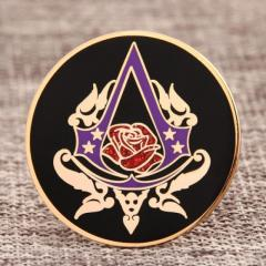 Rose Custom Hard Enamel Pins