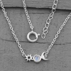 Moonstone Necklace - Moons Companion - GSJ