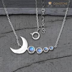 Moonstone Necklaces - Cupid Moon - GSJ