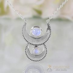 Moonstone Necklace - Cycle Of Luna - GSJ