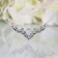 Moonstone Necklace - Iconic Delta - GSJ