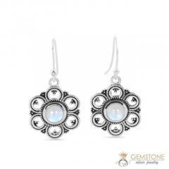 Moonstone Earring - BLOSSOM - GSJ
