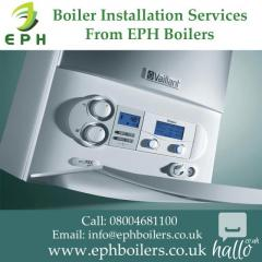Gas & Oil Boiler Installation Services From EPH Boilers