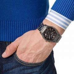 Armani Black Ceramic Mens Watch