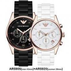 Armani his & hers Watches