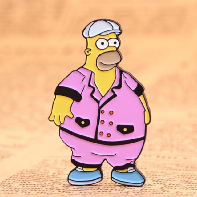 Simpson custom enamel pins 3 Image
