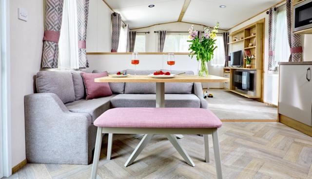 Static Caravan in The NEW FOREST at Sandy Balls Village 3 Image
