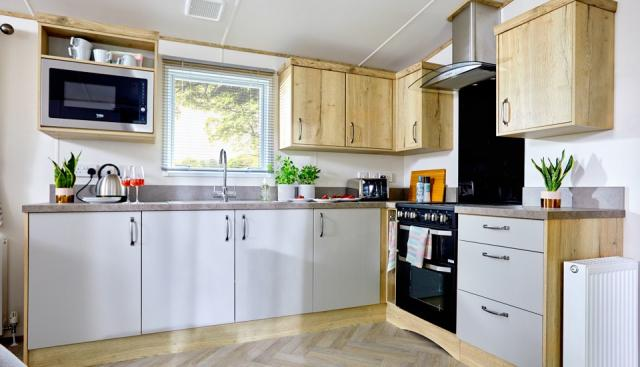 Static Caravan in The NEW FOREST at Sandy Balls Village 4 Image