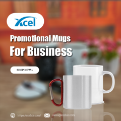 Printed Promotional mugs for business