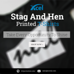 Stag and Hen Printed T-shirts - Xceluk