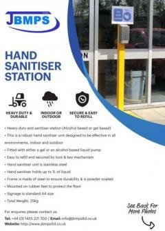Sturdy Hand Sanitiser or Heavy Duty Hand Sanitiser