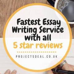 Projectsdeal Is No.1 Fastest Dissertation  Essay