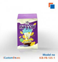 Get Eco Friendly personalized cereal box At iCustomBoxe